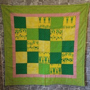 Frog Themed Project Linus Baby Quilt